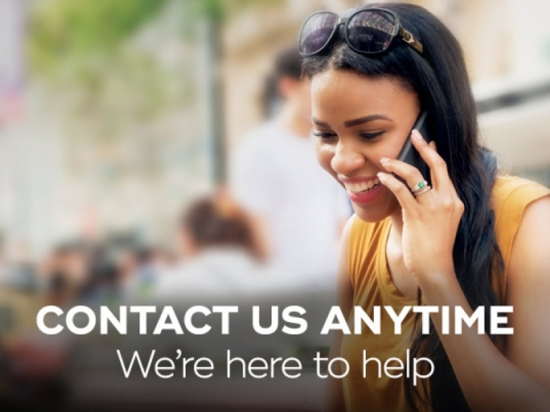Contact us anytime