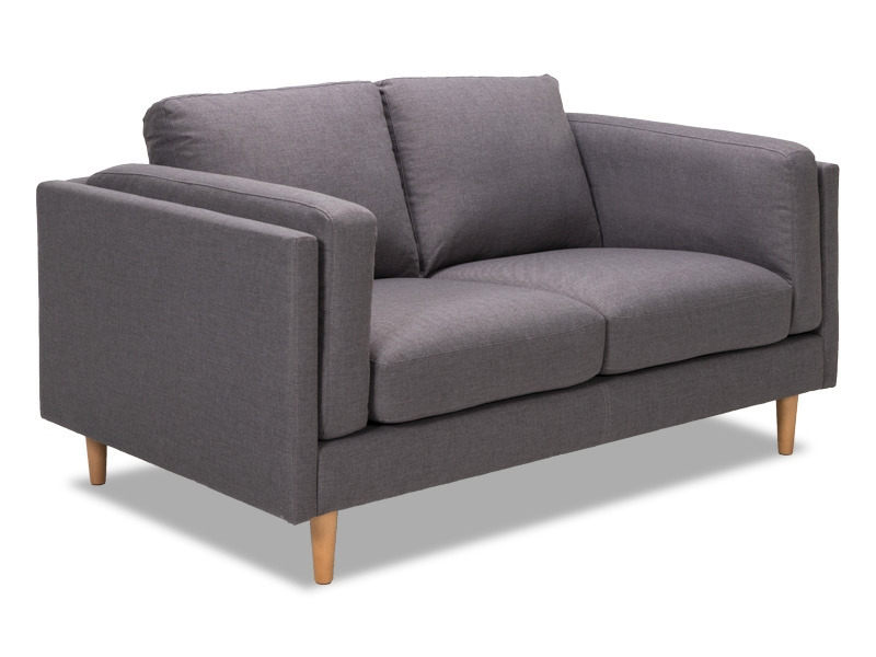 Paterson 2 Seater in Storm fabric