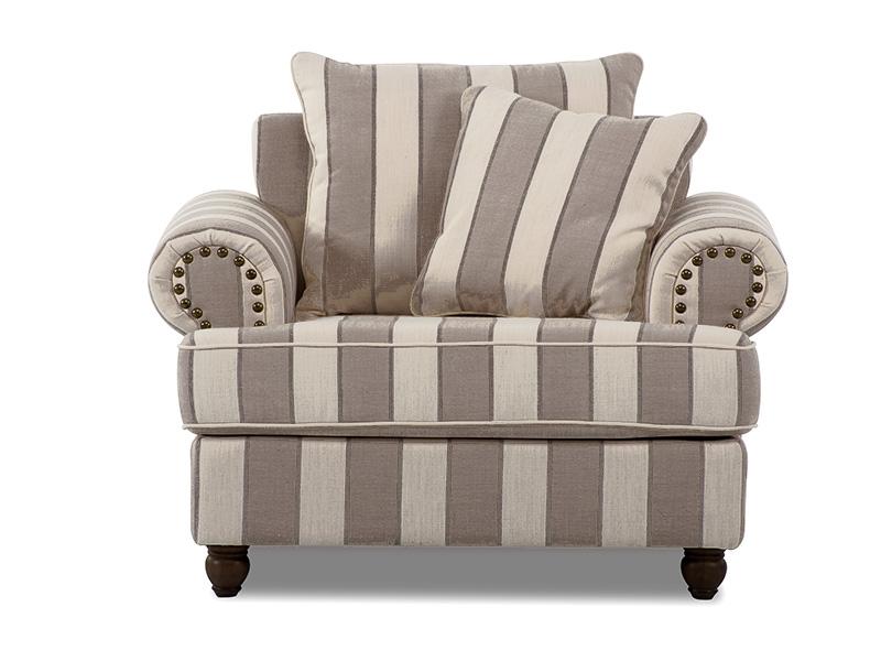 Georgia Armchair in Grey