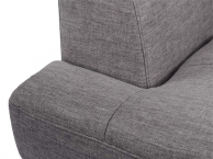 Cannes 3 Seater with Chaise in Blue Grey fabric (product thumbnail)