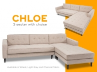 Chloe Chaise in Wheat (product thumbnail)