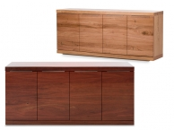 Atlas 4 Door Buffet Jarrah or Wormy Chestnut (product thumbnail)